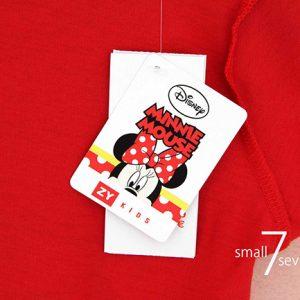 K12202 เสื้อยืดเด็กลาย Minnie Mouse พร้อมส่ง