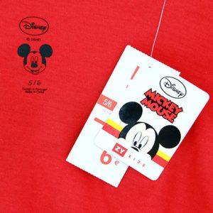 K12208 เสื้อยืดเด็กลาย Mickey Mouse (ไซส์ใหญ่)