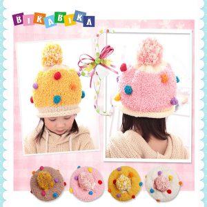 K21122 หมวกไหมพรมเด็ก
