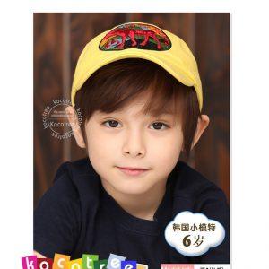 K21201 หมวกเบสบอลเด็กปักลายกวาง Kocotree