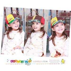 K21202 หมวกเด็ก หมวกผ้า ปีกสั้น Lemonkid