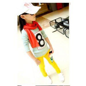 K13113 กางเกงเด็กผู้หญิง พร้อมส่ง