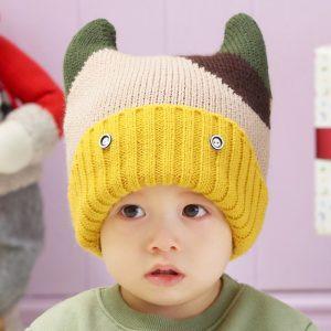 K21119 หมวกไหมพรมเด็ก