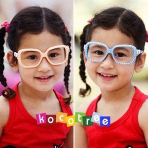 K2226 แว่นเด็ก กรอบแว่นเด็กลายริ้ว ไม่มีเลนส์ แบรนด์ Kocotree