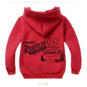 K19260 เสื้อกันหนาวเด็ก ผ้าสำลี ลาย McQueen