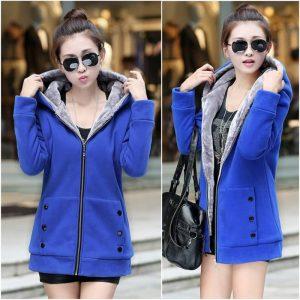 11227X เสื้อแจ็คเก็ตกันหนาว แฟชั่นเกาหลี ไซส์ผู้ใหญ่
