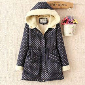11523LM เสื้อโค้ทกันหนาวลุยหิมะ เสื้อกันหนาวแฟชั่นเกาหลี ไซส์ผู้ใหญ่