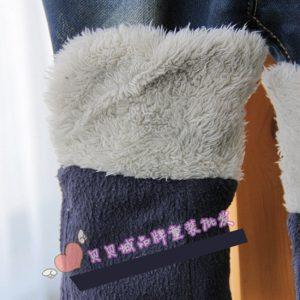 K13127 กางเกงยีนส์กันหนาวเด็กเล็ก ลุยหิมะได้ BabyCity