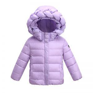 k19344 เสื้อกันหนาวเด็ก แนว Down Jacket สีสันสดใส พร้อมส่ง