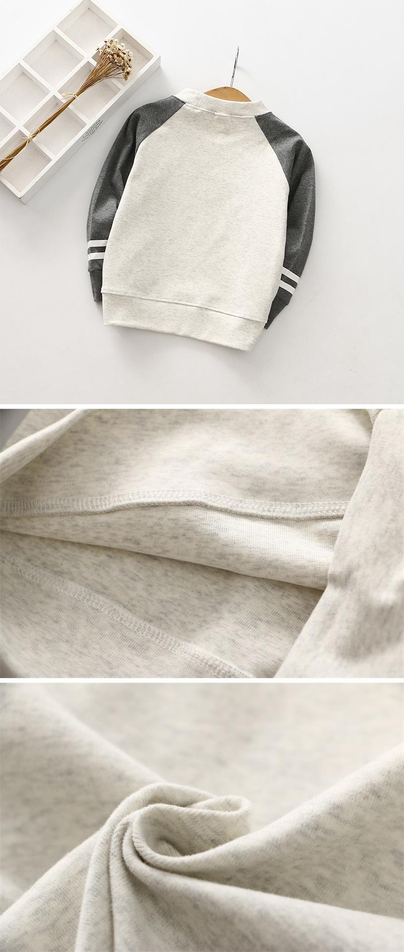 K12275 เสื้อแขนยาวเด็ก ผ้าหนานุ่ม ผ้าดีมาก