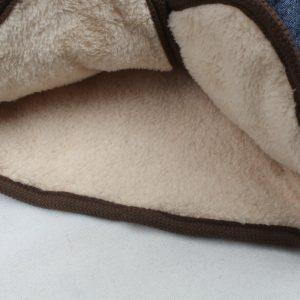 K19246 เสื้อกันหนาวเด็ก ซับในผ้าขนนุ่ม ฮู้ดใหญ่