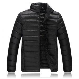 K19345 เสื้อกันหนาวเด็ก เสื้อกันลม Down Jacket ซับในขนเป็ด