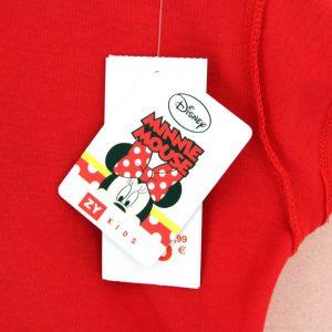 K12207 เสื้อยืดเด็กลาย Minnie Mouse