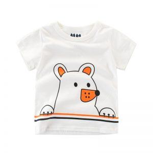 K12279 เสื้อยืดเด็ก ลายหมี Two&Seven