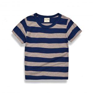 K12280 เสื้อยืดเด็ก เสื้อแขนสั้นเด็ก เสื้อยืดคอกลม Two&Seven