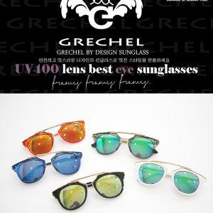 K2238 แว่นกันแดดเด็ก แว่นปรอทเด็ก GRECHEL