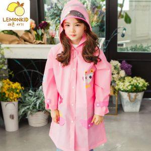 K1122 เสื้อกันฝนเด็ก ชุดกันฝนเด็ก Lemonkid ของแท้