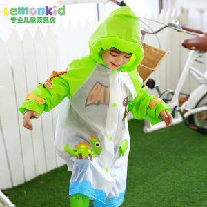 K19280 เสื้อกันฝนเด็ก Lemonkid พร้อมส่ง