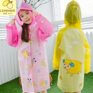 K19340 เสื้อกันฝนเด็ก ชุดกันฝนเด็ก Lemonkid