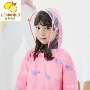 K1125 เสื้อกันฝนเด็ก ชุดกันฝนเด็ก Lemonkid