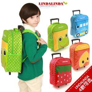 K248 กระเป๋านักเรียน กระเป๋าล้อลากเด็ก กระเป๋าเป้เด็ก Linda Linda