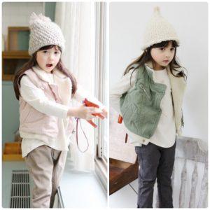 K19215 เสื้อกั๊กเด็ก เสื้อกันหนาวเด็ก
