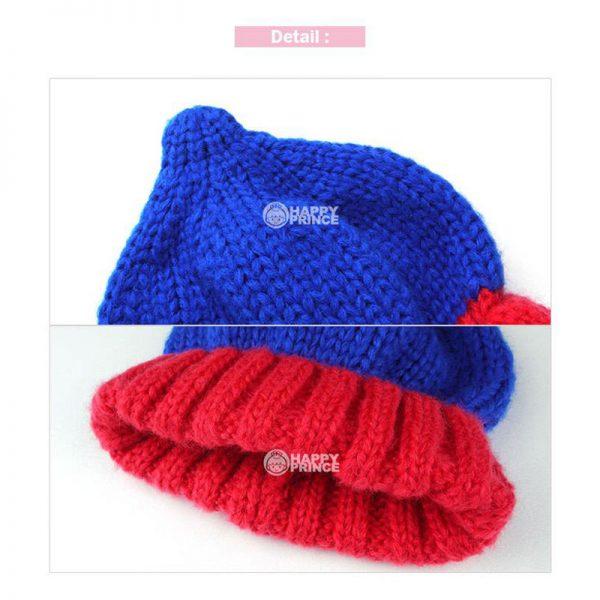 K21178 หมวกไหมพรมเด็กเล็ก หมวกกันหนาวเด็กเล็ก