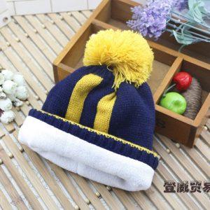 K21181 หมวกไหมพรมเด็ก รุ่นหนา ซับในผ้าสำลี