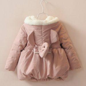 K19220 เสื้อกันหนาวเด็กผู้หญิง หนานวม พร้อมส่ง