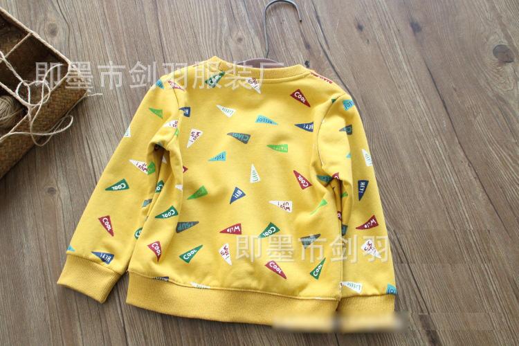K19364 เสื้อกันหนาวเด็ก สเว็ตเตอร์สีสันสดใส