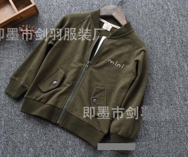 K19365 เสื้อกันหนาวเด็ก เสื้อคลุม คาร์ดิแกน