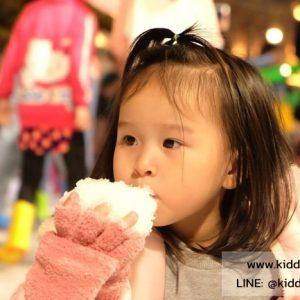 K263 ถุงมือกันหนาวเด็ก ถุงมือไหมพรมเด็ก