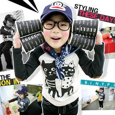 K12131 เสื้อแขนยาวเด็ก CI&SI