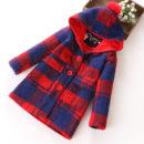 K19347 เสื้อโค้ทกันหนาวเด็ก ผ้าทอ สวยมาก