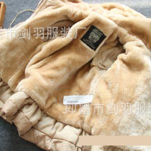 K19351 เสื้อโค้ทกันหนาวเด็ก ลุยหิมะ