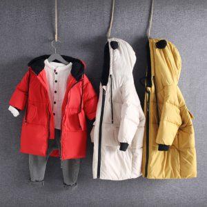 K19369 เสื้อกันหนาวเด็ก เสื้อขนเป็ด หนา นุ่ม นิ่ม และอุ่นมาก
